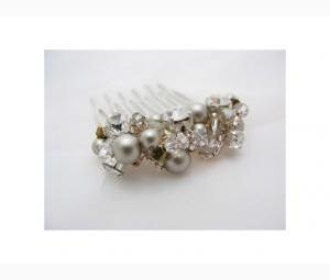 Hair comb - Platinum