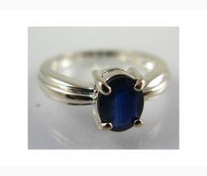 Magnificent 1.5ct Sapphire Solitaire Ring