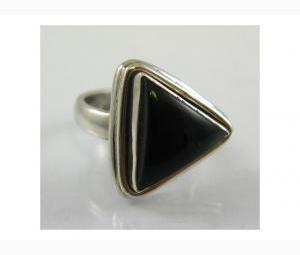 Sophisticated Black Onyx Ring