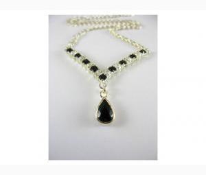 Sapphire & Topaz Necklace