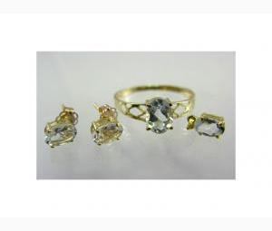 Aquamarine Jewellery - Complete Set!