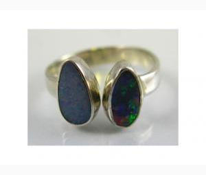 Brilliant 2 piece Opal Ring
