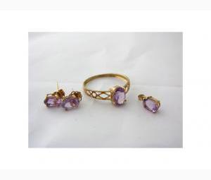 Amethyst Jewellery - Complete Set!